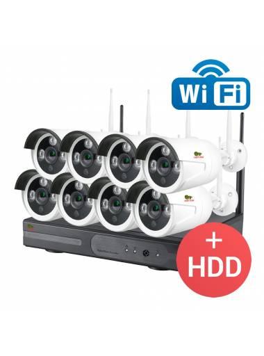 8cam + HDD
