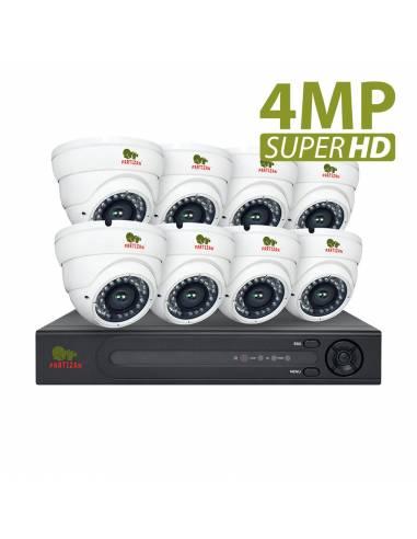 4.0MP Indoor set PRO AHD-73 8xCAM + 1xDVR
