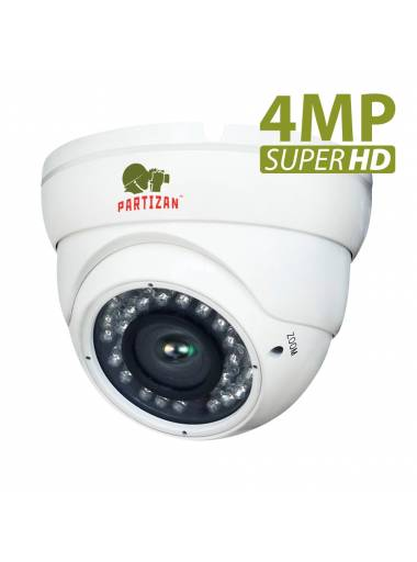 4.0MP AHD Varifocal camera CDM-VF37H-IR SuperHD 4.2
