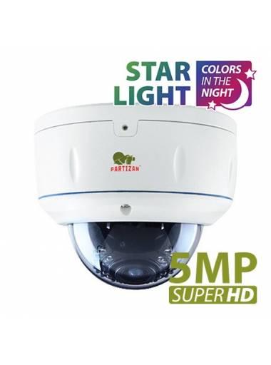 5.0MP IP Varifocal camera IPD-VF5MP-IR Starlight